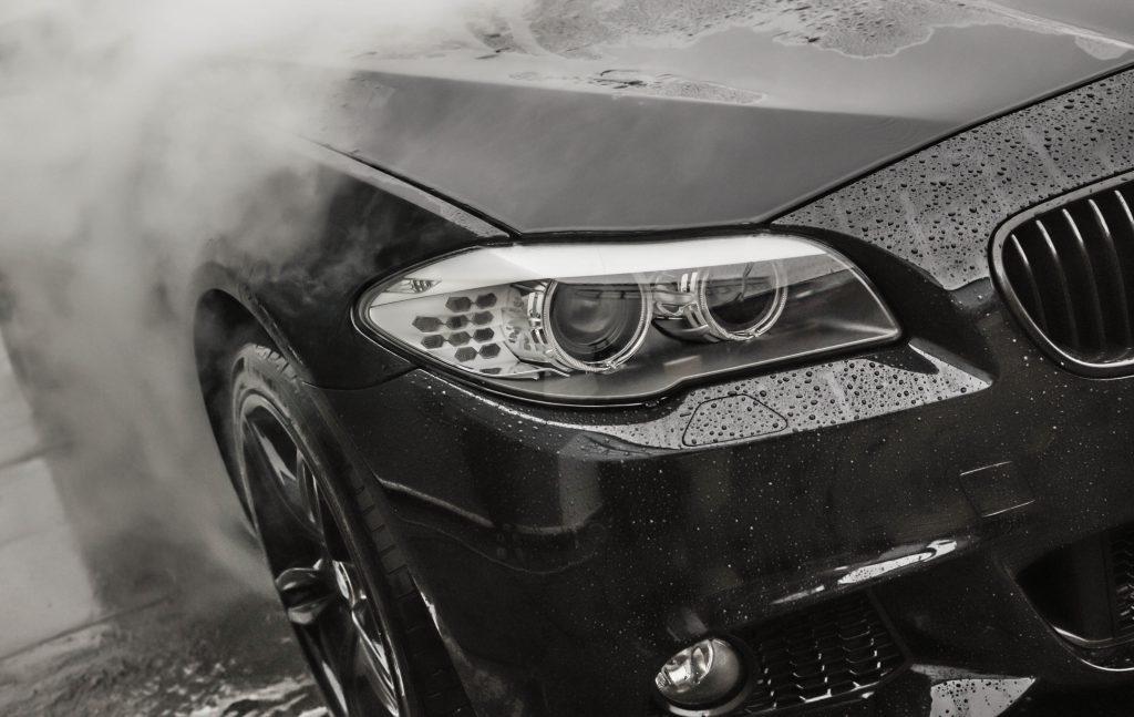 Myjnia samochodowa w Nano Clinic